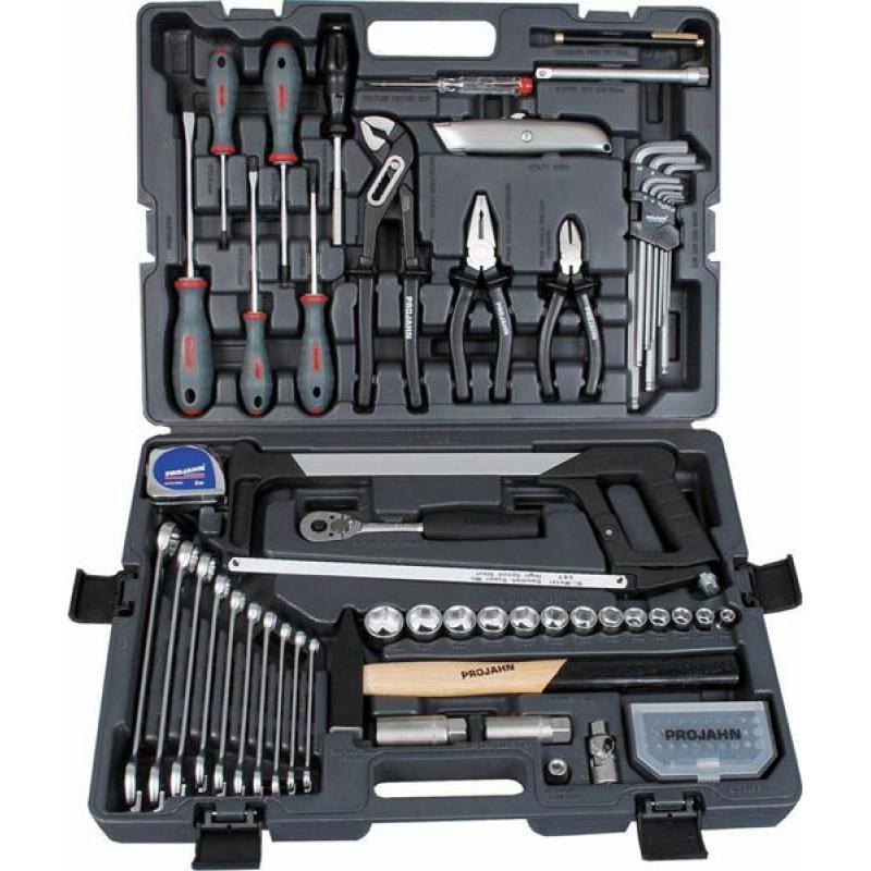 1/4 & 3/8 Zoll Der Allrounder Werkzeugkoffer mit 84 Werkzeugen