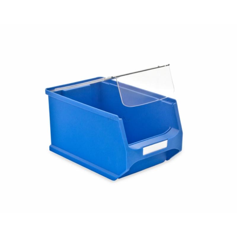 abdeckung f r sichtlager box kasten beh lter 235x145x125mm 1. Black Bedroom Furniture Sets. Home Design Ideas