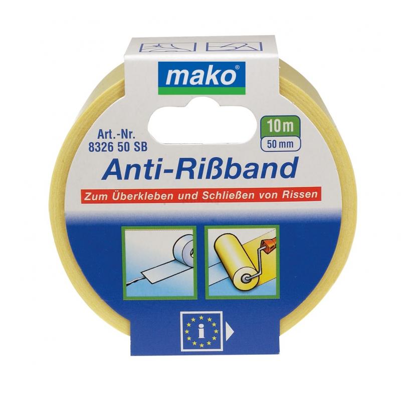 Anti Rissband Fugenband weiß Größe 50mm x 10m (0,34EUR/m)