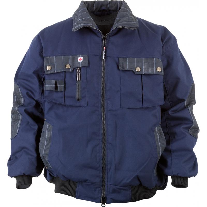 Arbeitsjacke Winterjacke Pilotenjacke CL-Pilotenjacke marine/grau Gr. XXL marine