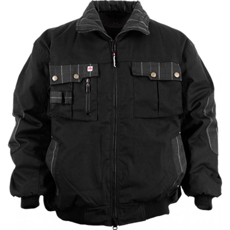 Arbeitsjacken Winterjacken Pilotenjacken CL-Pilotenjacke schwarz Gr. XXL schwarz