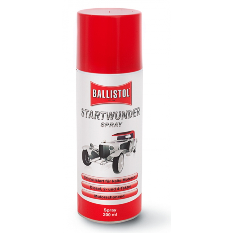 Ballistol F.W. Klever GmbH Ballistol Starthilfespray Startwunder 200 ml für Motoren