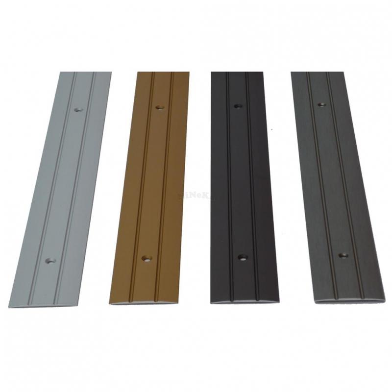 bergangsprofil alu profil schiene zum schrauben 270 x 3 8 cm alu. Black Bedroom Furniture Sets. Home Design Ideas