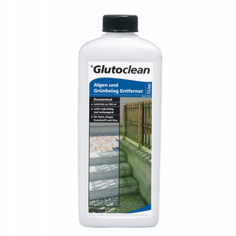 glutoclean algen moos gr nbelag entferner konzentrat 1 liter. Black Bedroom Furniture Sets. Home Design Ideas