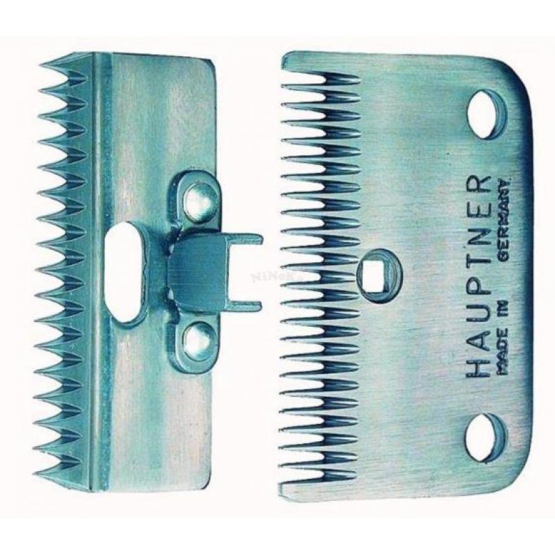 Schermessersatz Unterkamm 24 Zähne Oberkamm 17 Zähne