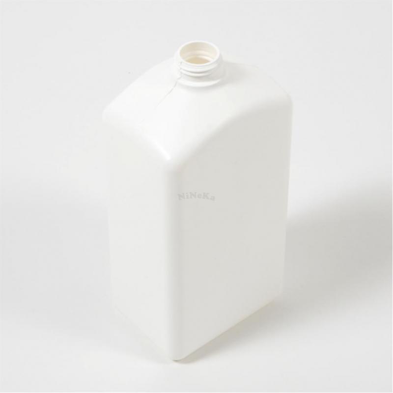 Kunststoffflasche Flasche aus PE-HD Kunststoff LEER bis 1 Liter weiß ohne Deckel