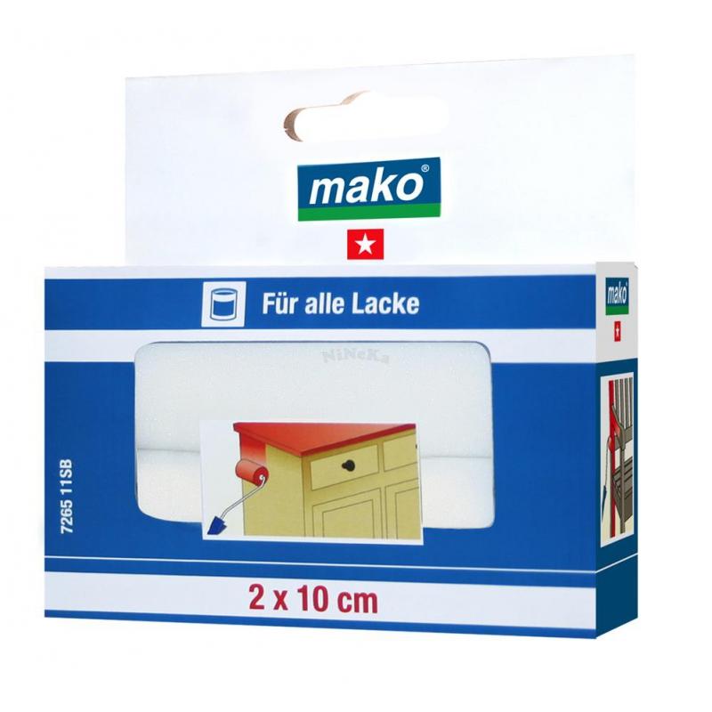 lack lackier ersatzwalze mako poren schaumstoff fein 10 cm gerad. Black Bedroom Furniture Sets. Home Design Ideas