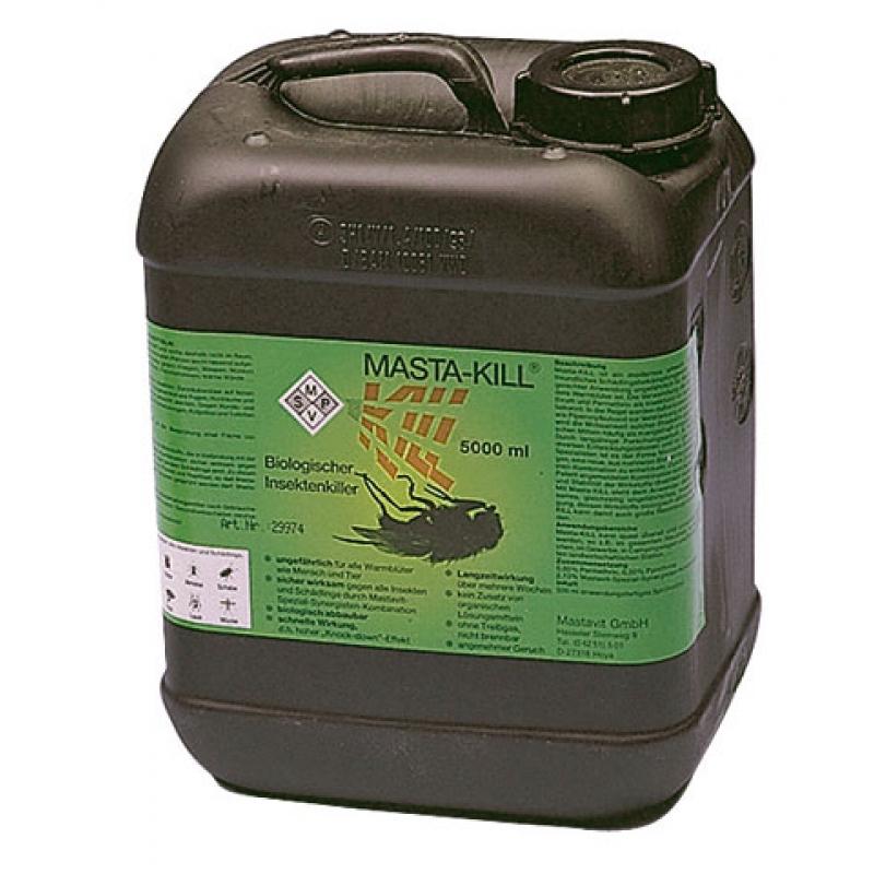 masta kill mastavit insektenkiller biologisch abbaubar 5 liter. Black Bedroom Furniture Sets. Home Design Ideas