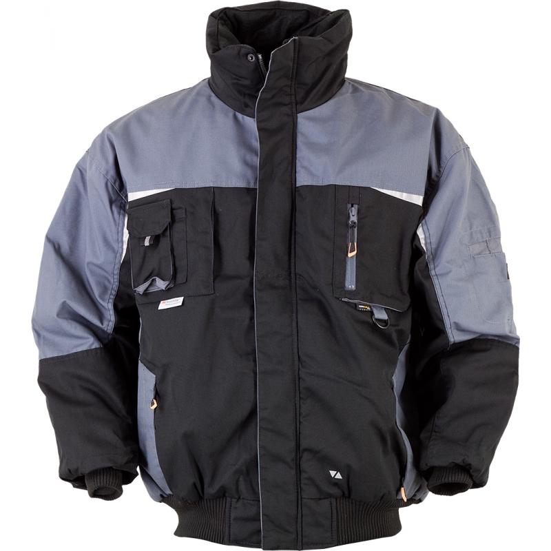Pilotenjacke Jacke TTJ-Revolution-Pilotenjacke schwarz/grau Gr. XXL schwarz/grau