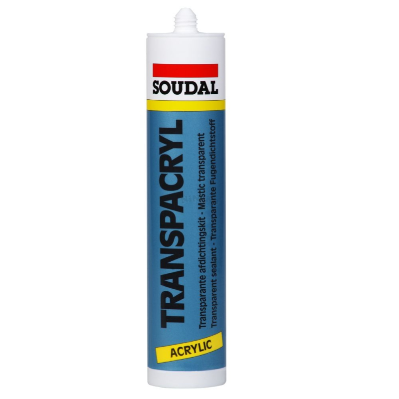 soudal transpacryl acryldichtstoff 310ml transparent. Black Bedroom Furniture Sets. Home Design Ideas