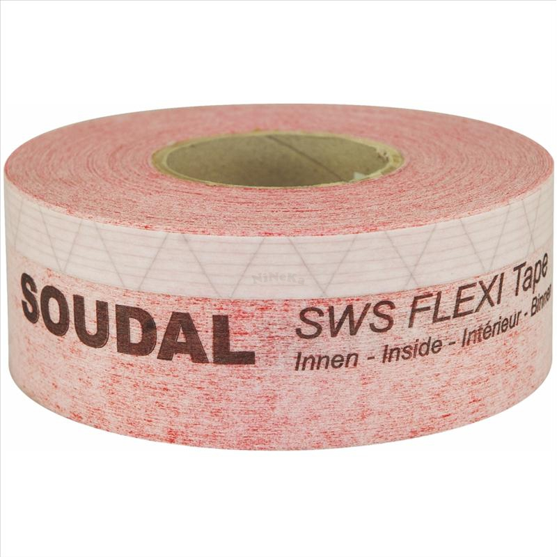 SWS Flexi Tape Inside flexibles Fensterdichtband 25m x 100mm (0,96EUR/m)