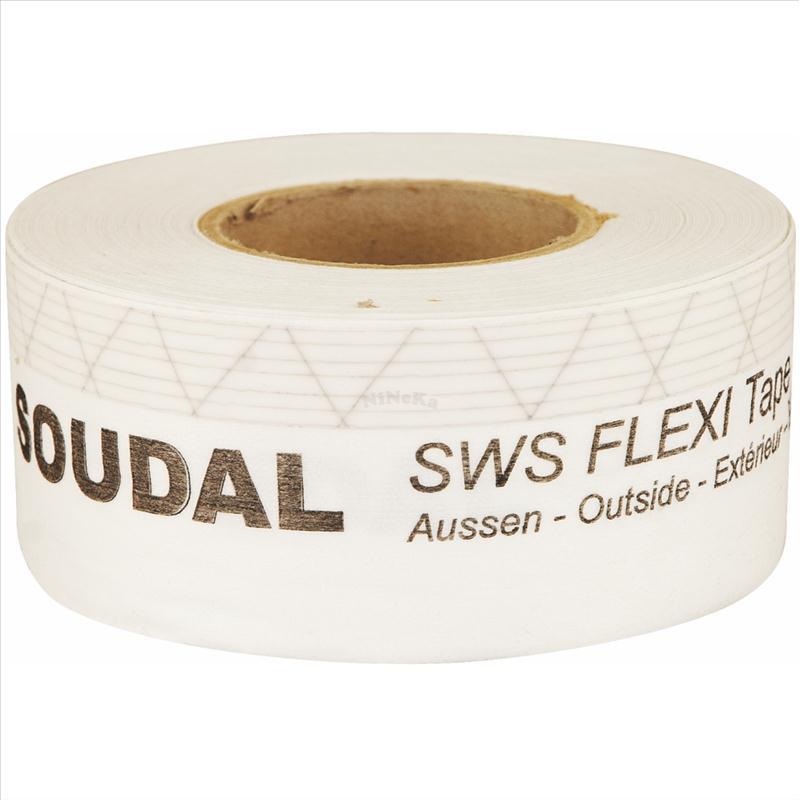 SWS Flexi Tape Outside flexibles Fensterdichtband 100mm x 25m (0,96EUR/m)