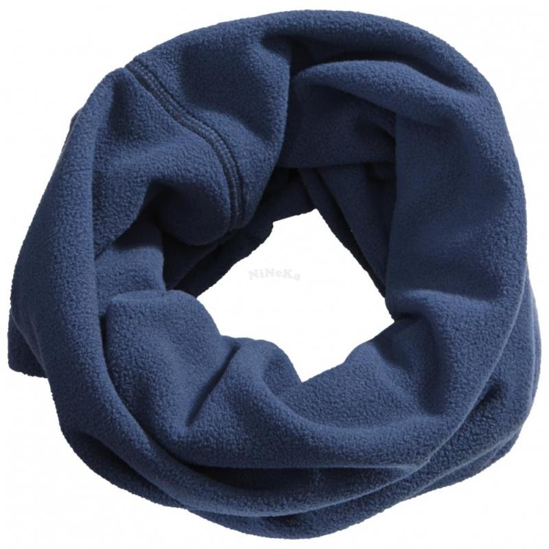 Schal Windschutz Winterschal Halsschutz Arbeitsschutz Crossover Loop - blau