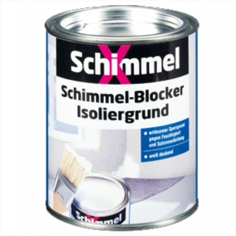 schimmelx schimmel blocker isoliergrund wei deckend. Black Bedroom Furniture Sets. Home Design Ideas