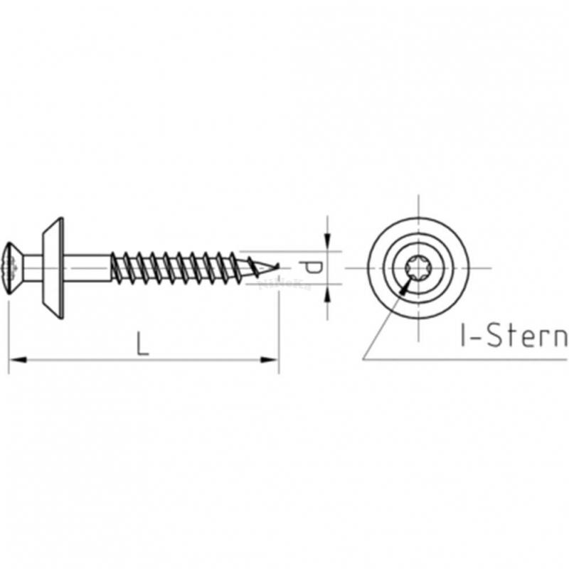 spenglerschrauben graue dichtscheibe d 15 mm 2 teilig i. Black Bedroom Furniture Sets. Home Design Ideas