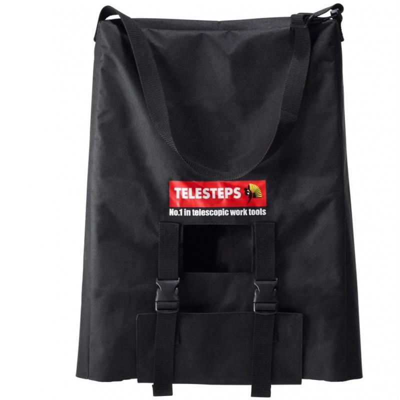 ® Tragetasche PRO aus schwarzem Nylon