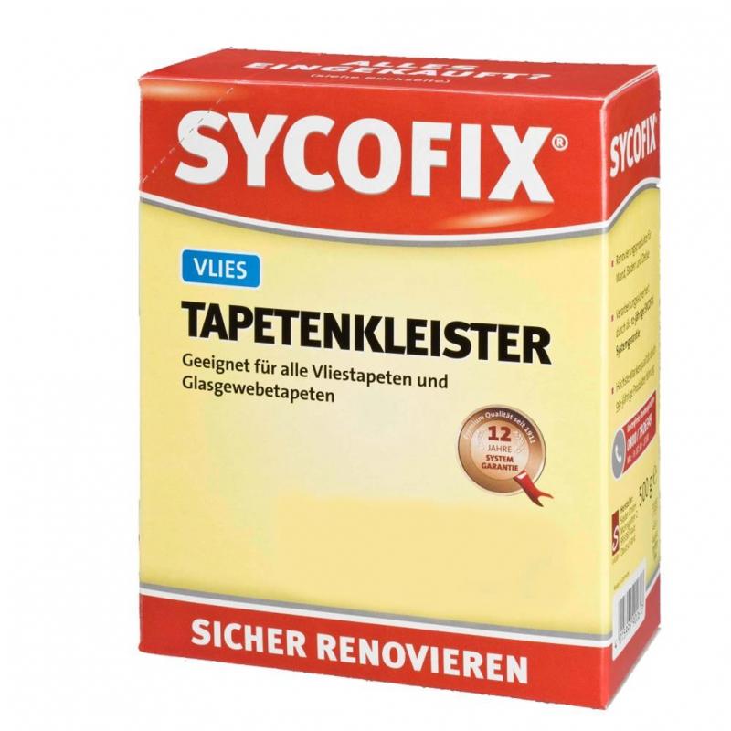 Vliestapeten Verarbeiten : – SYCOFIX – Kleister f?r Vliestapeten & Glasgewebetapeten