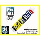 Fix All Turbo Polymer Konstruktionsklebstoff Montagekleber 290ml