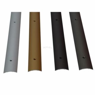 bergangsprofil alu profil schiene zum schrauben 270x3cm aluminiu. Black Bedroom Furniture Sets. Home Design Ideas