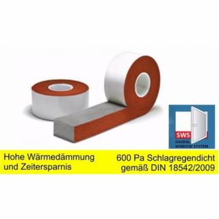 fensterband fugendichtungsband 64mm breit 10mm 20mm. Black Bedroom Furniture Sets. Home Design Ideas