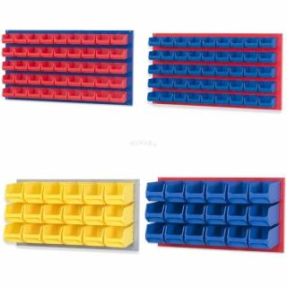 konfigurator f r wandhalter mit sichtlagerboxen sichtlagerk. Black Bedroom Furniture Sets. Home Design Ideas